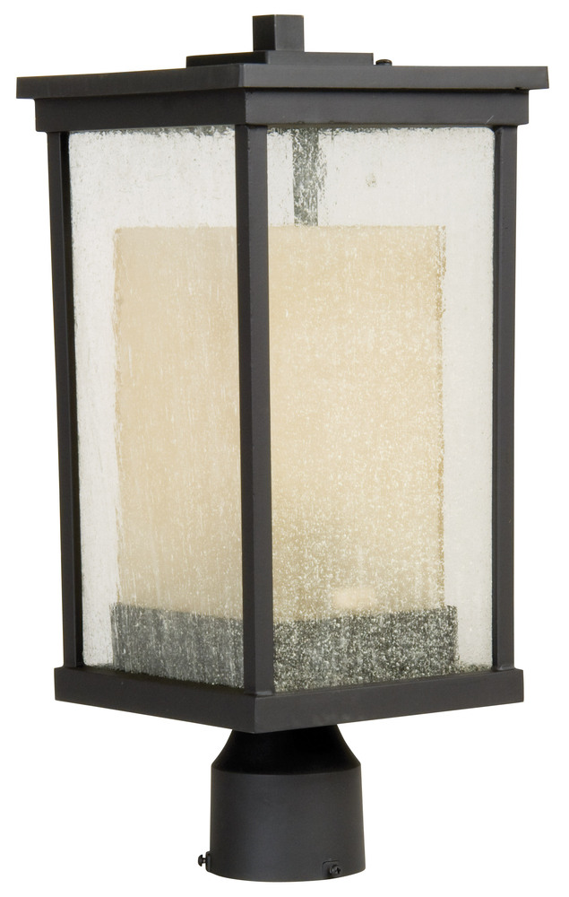 Craftmade,Z3725-92,8.00 X 18.00IN OILED BRONZE FINISH RIVIERA POST LIGHT